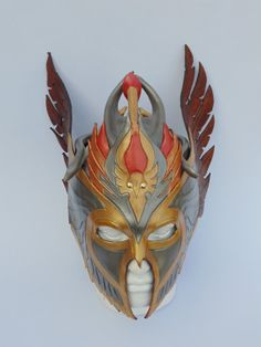 Hey, I found this really awesome Etsy listing at https://www.etsy.com/listing/182795542/leather-mask-viking-valkyrie-winged