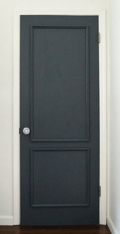 Brooklyn Two Panel Door Moulding Kit~ Get the custom, high-end look in your home with Luxe Architectural