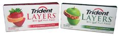 Hands down thee best gum out there, IMO. Trident, Gelatin, Layers, Fruit, Hands, Products, Layering, Jello, Jello Gelatin