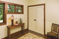 craftsman  by Lynden Door Single-panel doors are suitable for and often found in Craftsman houses as well as other modest houses of the 1920s and 1930s.