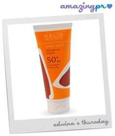 """""""The Kalis Ultra Protection Sun Cream in Factor 50+ (you can never be too careful…), is packed full of ingredients designed to help and protect your skin. Jojoba Oil to moisturise and leave skin soft, Vitamin E to help reduce the appearance of scars, Carnosine to rejuvinate the skin cells, and Fomblin to hydrate the skin."""" Come to our blog and read the full post! http://amazingpr.co.uk/blog/?p=4930"""