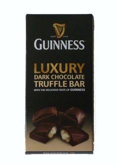 Guinness Luxury Dark Chocolate Truffle Bar (90g)