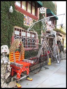 Day of the Dead Biker; Tios Tacos, Riverside CA