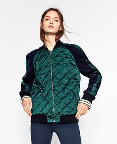 ZARA most affordable bomber jackets - Fall  Check out the full blog at http://www.madamesociety.com/
