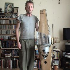 Iner Souster and the Experimental Instruments He Lives With Strange Music, Best Guitar Players, Best Player, Homemade Instruments, Cigar Box Guitar, Learn To Play Guitar, Guitar Tabs, Music Theory, Playing Guitar