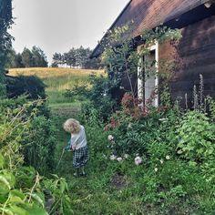 Kids and farm chores