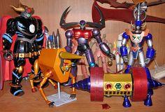 Mazinger Z Villains Custom by anavelgatoh
