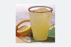Pineapple Lemonade Cooler= lemonade made with half pineapple juice and sparkling water- yum!
