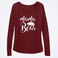 Get OFF using code at checkout! Mama Bear shirt, women's top, women's fashion, clothing, mothers. Perfect Image, Perfect Photo, Love Photos, Cool Pictures, Mama Bear Shirt, Mom Shirts, Order Prints, Shirt Designs, Long Sleeve Tees