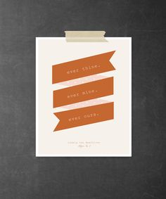 ever thine. ever mine. ever ours. ~a quote from Beethoven's letter no. 3 <3 | {8x10 art print}