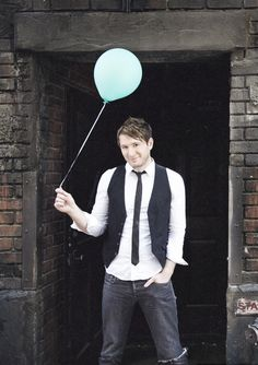 Owl City. Amazing picture, completely makes sense, he is a very optimistic, Young man, with a childish personality. Love you, Adam! <3