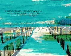 Under+The+Boardwalk.+8+x+10++Musical+Fusion+by+BrandiFitzgerald,+$20.00