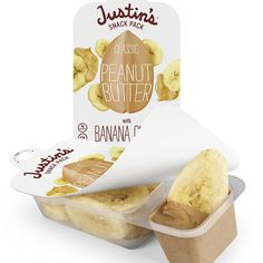 Most Likely to Survive In Your Handbag: Justin's Snack Pack Classic Peanut Butter With Banana Chips