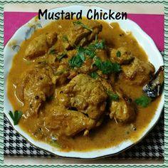 Chinu's Kitchen Corner: Mustard Chicken