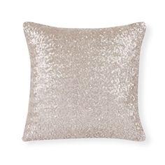 Mink sequin cushion  £3.00