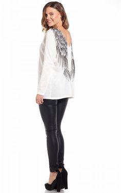 Guardian Angel knit in white | SHOWPO Fashion Online Shopping