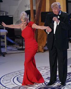 Kelly Ann Conway & Trump, 1/19/17