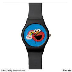 Shop Elmo Girl Wrist Watch created by SesameStreet. Girls Wrist Watch, Presents For Kids, Fun Gifts, Watch Faces, Elmo, Digital Watch, Fashion Accessories, Quartz, Watches