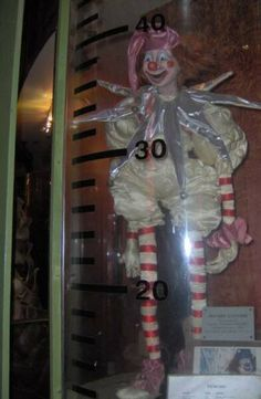 Poltergeist clown at planet hollywood