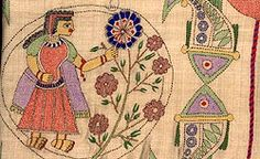 Indian Crafts - Kantha Embroidery