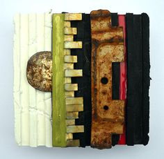 Night and Day: found object assemblage by tristanfrancis on Etsy