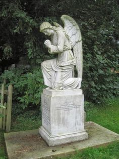The Angel, Cookham churchyard (painted by Stanley Spencer)
