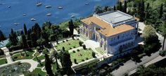 Villa Ephrussi de Rothschild in St. Jean Cap Ferrat, between Nice and Monaco. A spectacular estate and the site of my 2003 wedding.