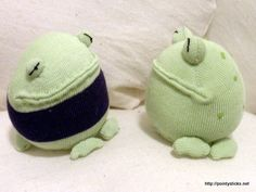 Sock Frogs!