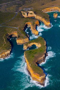 Part of the Twelve Apostles, Victorian coastline Australia