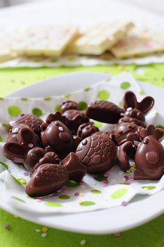 Petits chocolats de Pâques