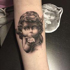 60 Tatuagens de Anjo Inspiradoras - Melhores Fotos!