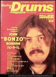 da29ace4e9d John Bonham of Led Zeppelin - Drum Magazine