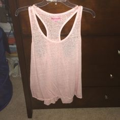 tank top light pink, razor back, loose fit American Eagle Outfitters Tops Tank Tops