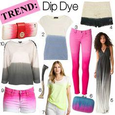 I want to dipdye everything....