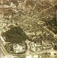 Passeio Público - vista aérea - c.1920 by Flavio M, via Flickr