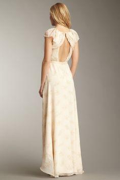 {Floral Sandy Dress} Elizabeth and James - such a soft floaty dress! love the back detail.