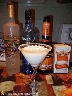 Naughty Hot Chocolate Martinis