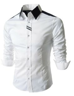 "The ""Munich"" 2-Toned Dress Shirt – Tattee Boy Clothes"