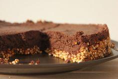 Entremets mousse au chocolat aquafaba Quinoa Soufflé, Mousse, Patisserie Vegan, Aquafaba, Desserts, Food, Drizzle Cake, Cooking Food, Eat