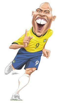 New Sport Illustration Art Soccer Players Ideas Soccer Art, Football Art, Caricature Artist, Caricature Drawing, Funny Caricatures, Celebrity Caricatures, Cartoon Faces, Cartoon Art, Comic Face