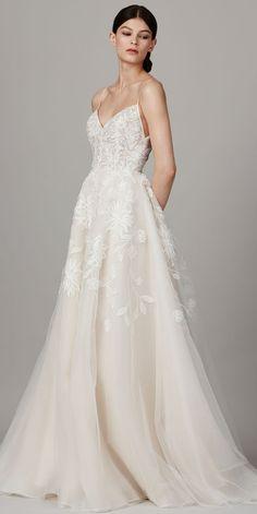 The Prettiest Spring 2017 Wedding Dresses from Bridal Fashion Week