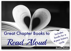 Great Chapter Books to Read Aloud — Start your read aloud list right here!