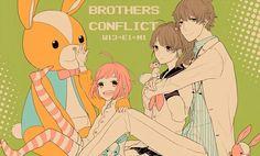 Brothers Conflict | Asahina Wataru, Asahina Masaomi, & Ema/Chii
