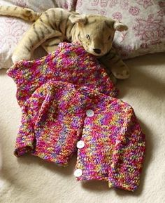 Free Knitting Pattern: Bright Baby Tank Top