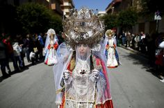 Penitents during Holy Week around the world – in pictures