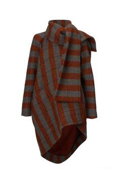 Vivienne Westwood 2013 Boucle Lambswool Coat.