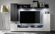 Dos Living Room Furniture Set 2 In White And Black High Gloss - Buy Living Room Furniture Sets, Furniture in fashion
