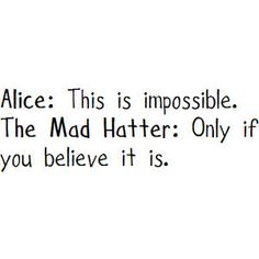 Alice in Wonderland//