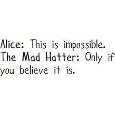 Alice in Wonderland//