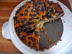 Blueberry Cornmeal Cake... this looks good.  Trying this for a Sunday Breakfast.